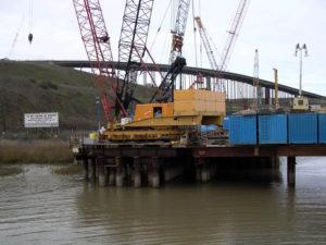 Benicia Bridge Crane Trestle