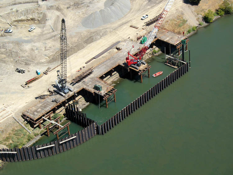 Freeport Intake Facility Crane Trestle 1