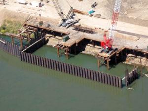 Freeport Intake Facility Crane Trestle 2