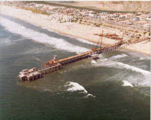 Huntington Beach Pier Crane Trestle