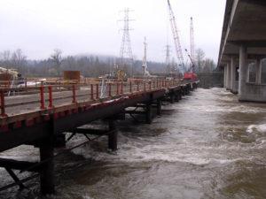 I 5 Willamette River Bridge Crane Trestle 3