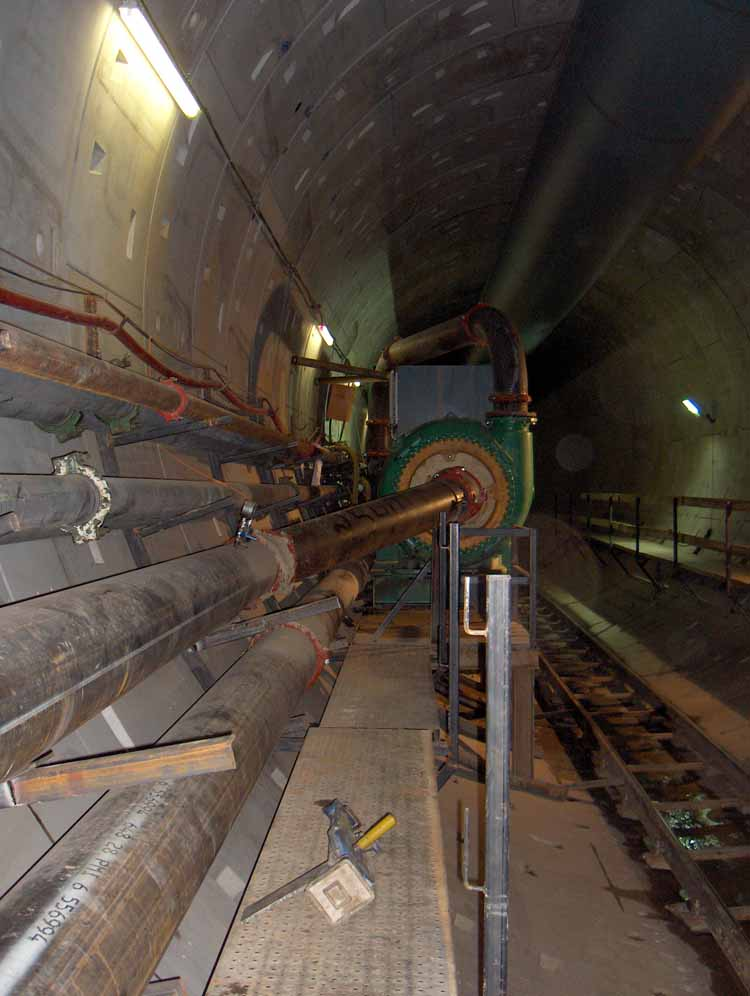East Side CSO Tunnel Pipe Rack